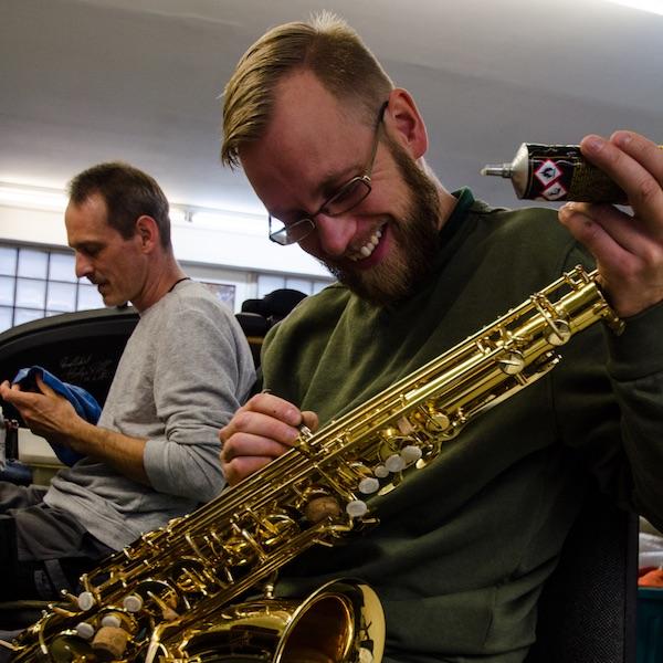 Saxophon Reparatur